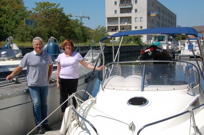 The Colmar Marina Team ©Pictural